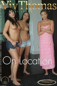 Viv Thomas On Location Jenny M & Lucie B & Natalia Forrest & Sonia Red & Zoe B