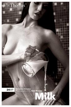 VivThomas - Veronica Snezna - Milk by Stan Macias