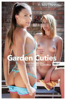 Viv Thomas - Sarah Cute & Talia Mint - Garden Cuties by Sandra Shine