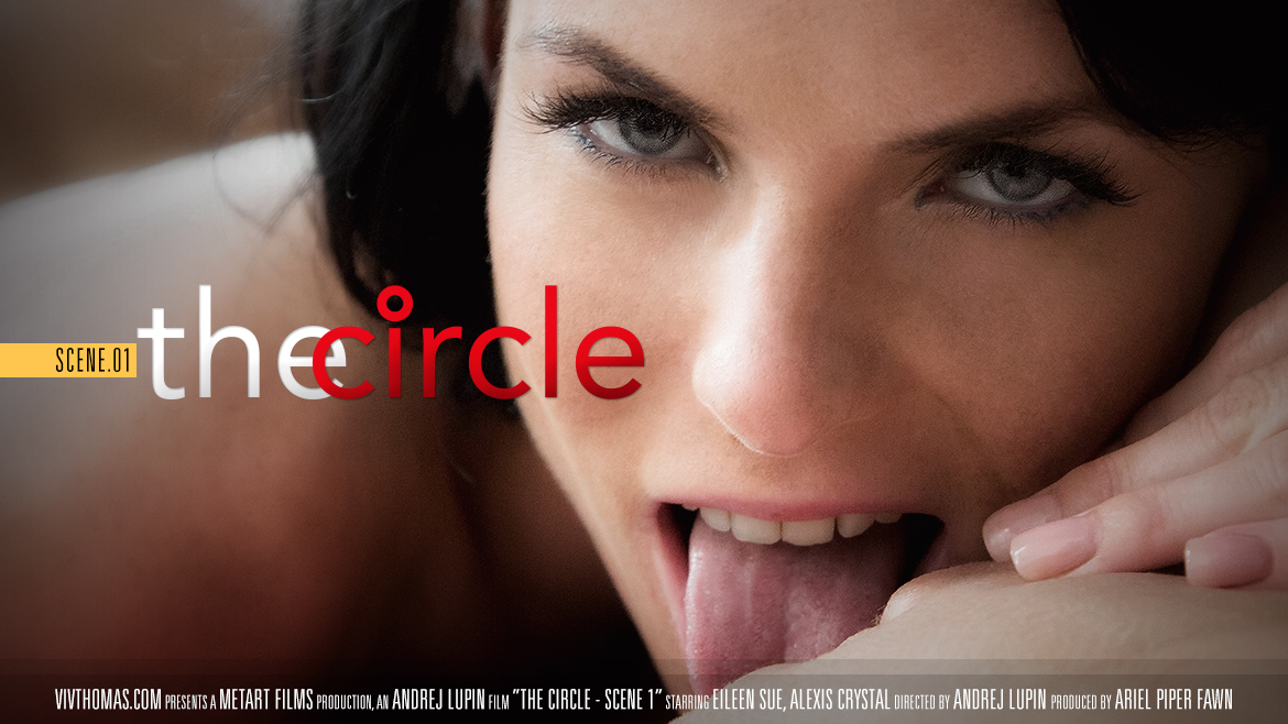Alexis Crystal & Eileen Sue in The Circle Scene 1 featured on Viv Thomas