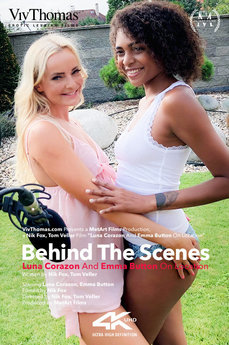 Behind The Scenes: Luna Corazon and Emma Button On Location