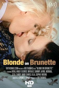 Blonde on Brunette