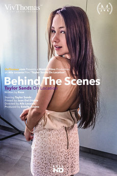 Behind The Scenes: Taylor Sands On Location