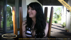 Interviewing Samantha Bentley Part 1