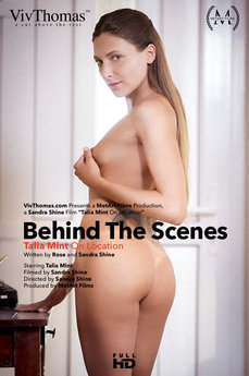 Behind The Scenes: Talia Mint On Location
