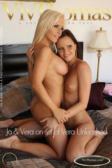 Jo & Vera on set of Vera Unleashed