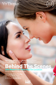 Behind The Scenes: Tina Kay & Lilu Moon on location
