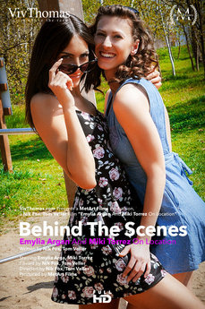 Behind The Scenes: Emylia Argan and Miki Torrez On Location