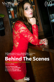 Behind The Scenes: Jimena Lago On Location
