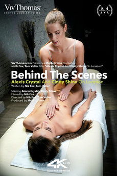Behind The Scenes: Alexis Crystal & Cindy Shine On Location
