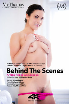 Behind The Scenes: Alyssa Reece On Location