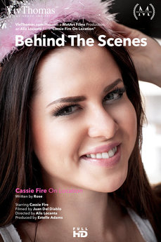 Behind The Scenes: Cassie Fire On Location