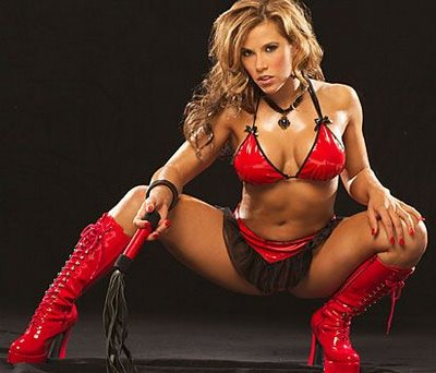 mickie-james-red