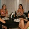Lisa, Trisha Brill, Eve Angel and Nella