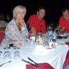 Avril at night golf with Spillum and Viv